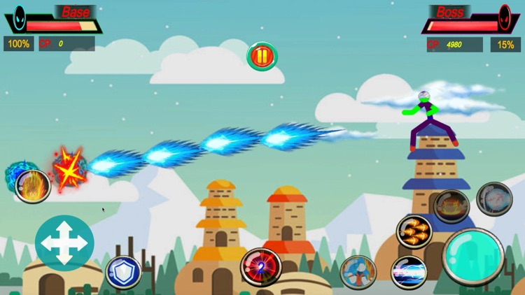 Stickman Fight: Super Warriors screenshot-3