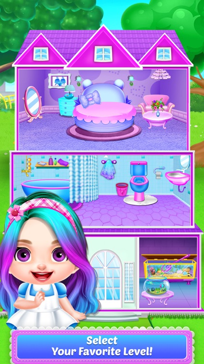 Baby Girls - Doll House Games!