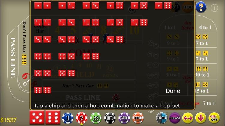 Craps Deluxe screenshot-3
