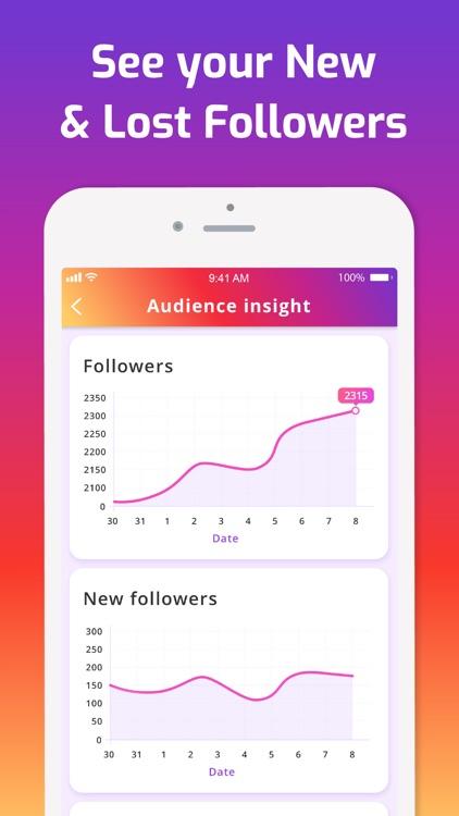 iMetric Analyzer for Instagram screenshot-3