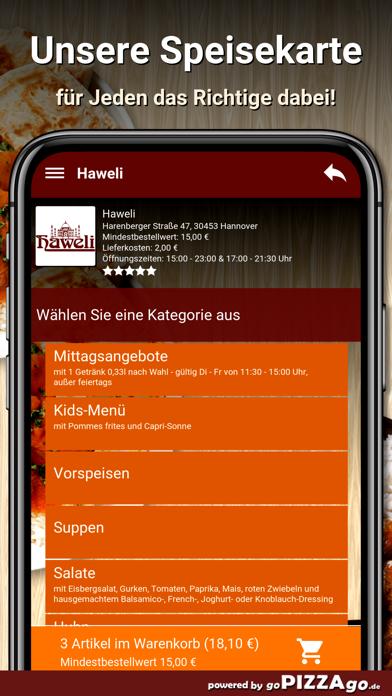 Haweli Hannover screenshot 4
