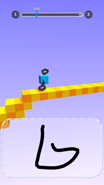 画个腿快跑!- Draw Climber screenshot-3