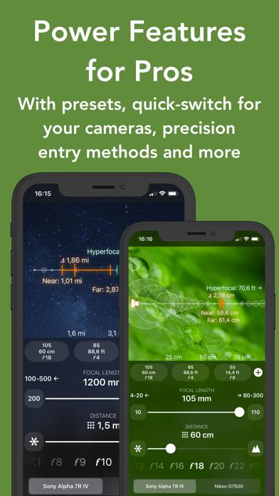 FocusFinder Depth of Field/DoF Screenshots