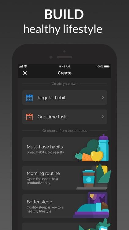 Productive - Habit Tracker screenshot-4