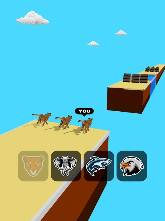 Animal Transform:Epic Race 3D screenshot 12