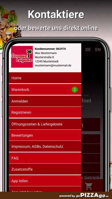 Croque Lagune Hamburg screenshot 2