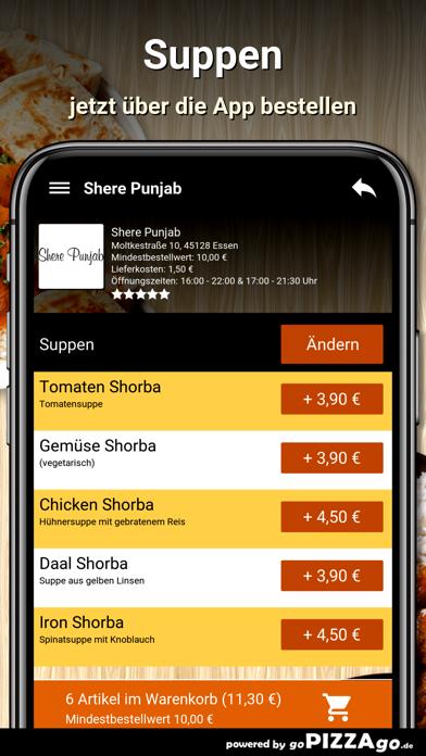 Shere Punjab Essen screenshot 5