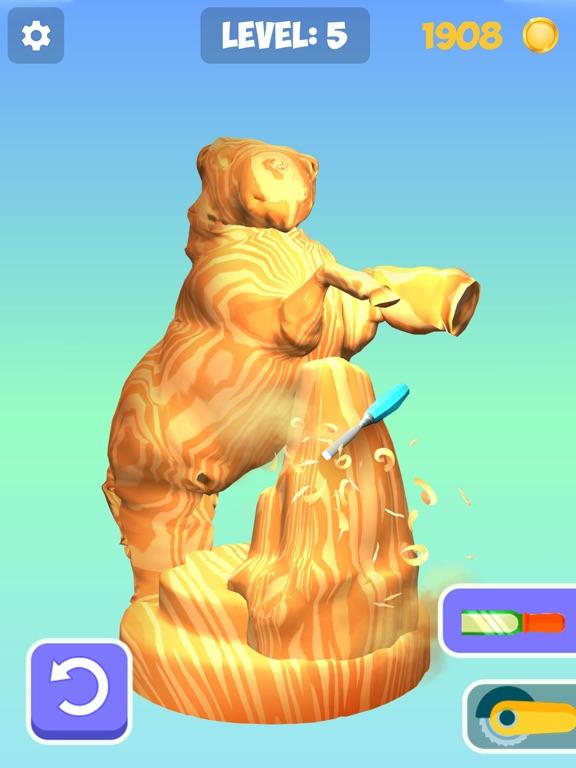 Idle Wood Carving 3D screenshot 7