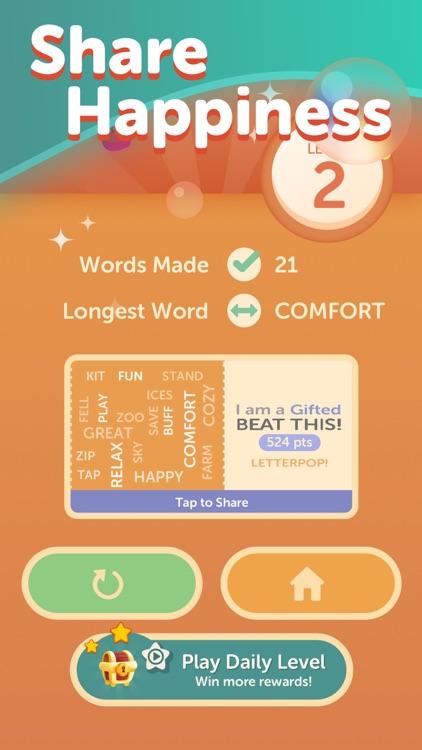LetterPop - Word Game screenshot-3