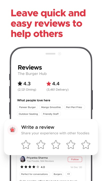 Zomato - Food Delivery, Dining screenshot-6