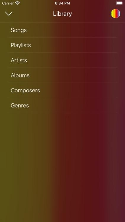 Croma - Music Player screenshot-3