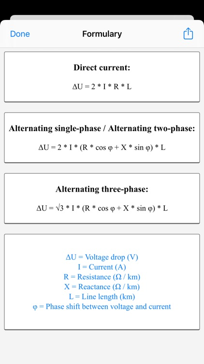 Electrical Calculations screenshot-4
