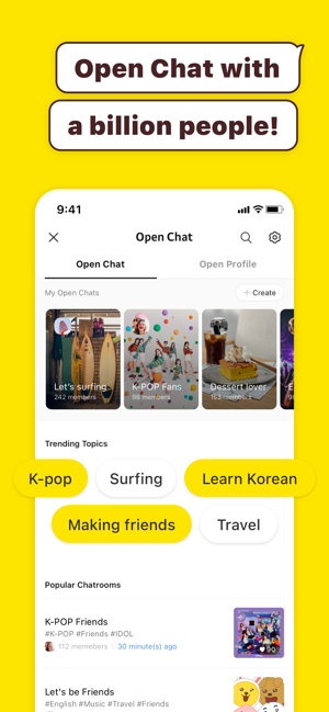 ‎KakaoTalk Messenger Screenshot