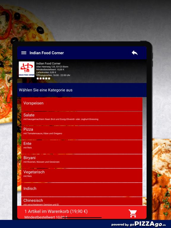 Indian Food Corner Bonn screenshot 8