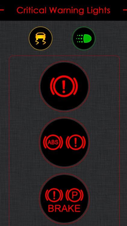 Cadillac Warning Lights Info screenshot-3