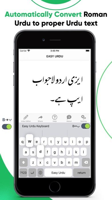 Easy Urdu - Keyboard & Editorのおすすめ画像2