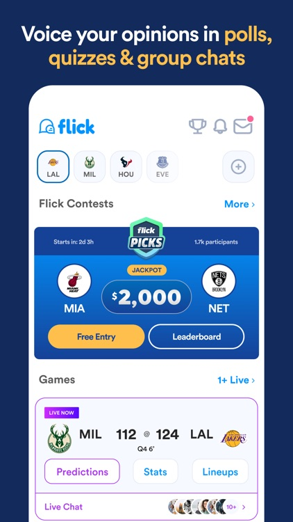Flick Sports screenshot-3