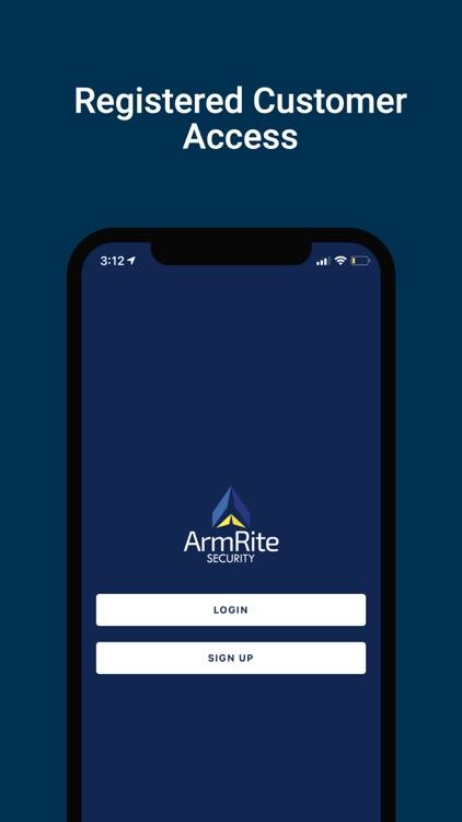 ArmRite Security Mobile App screenshot-3