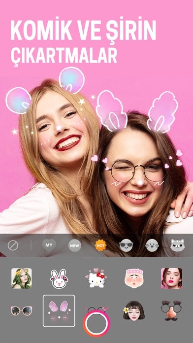 BeautyPlus -Snap, Edit, Filter iphone ekran görüntüleri