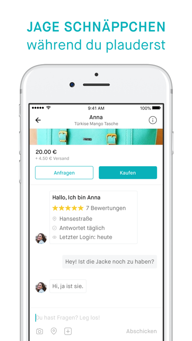 messages.download Vinted – Secondhand verkaufen software