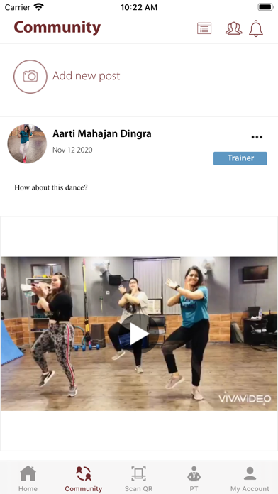 Fitness With AMD screenshot 1