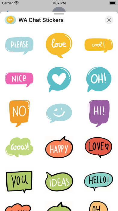 WA Chat Stickers screenshot #3