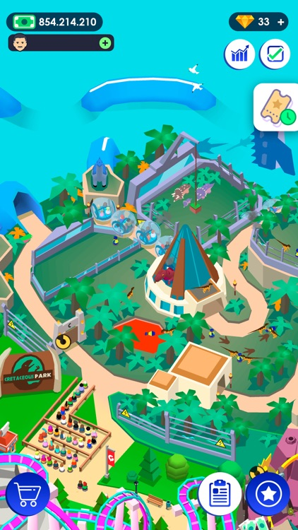 Idle Theme Park - Tycoon Game screenshot-5