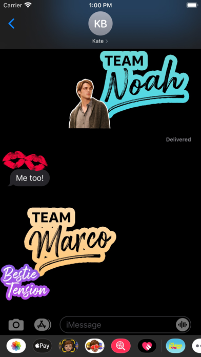 The Kissing Booth Stickers screenshot 10
