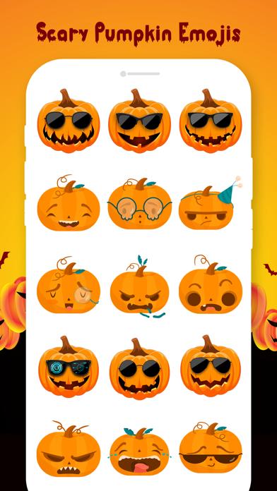 Scary Pumpkin Emojis screenshot 2