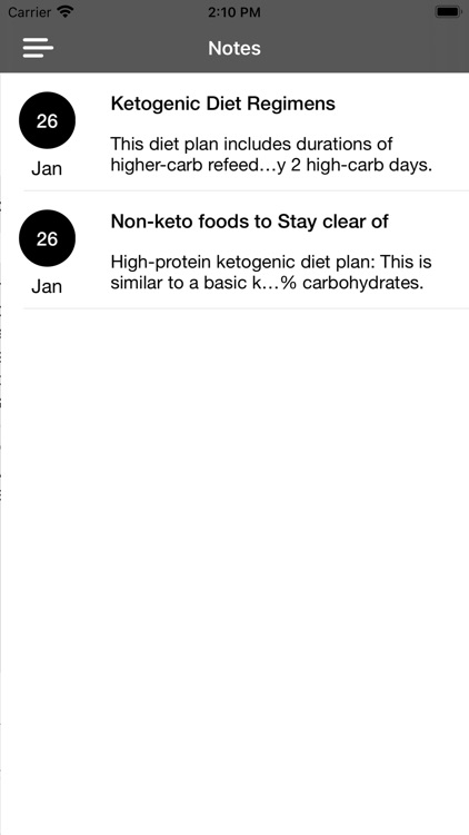 Keto Diet App Guide & Recipes screenshot-3