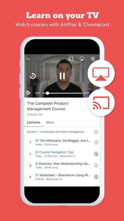Udemy Online Video Courses screenshot-3