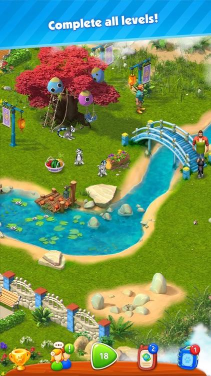 Park Town: Match 3 Game screenshot-7