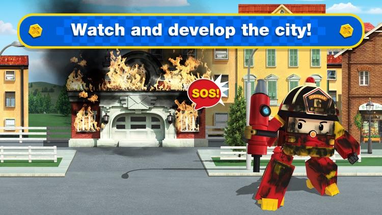 Robocar Poli Rescue Super Cars screenshot-5