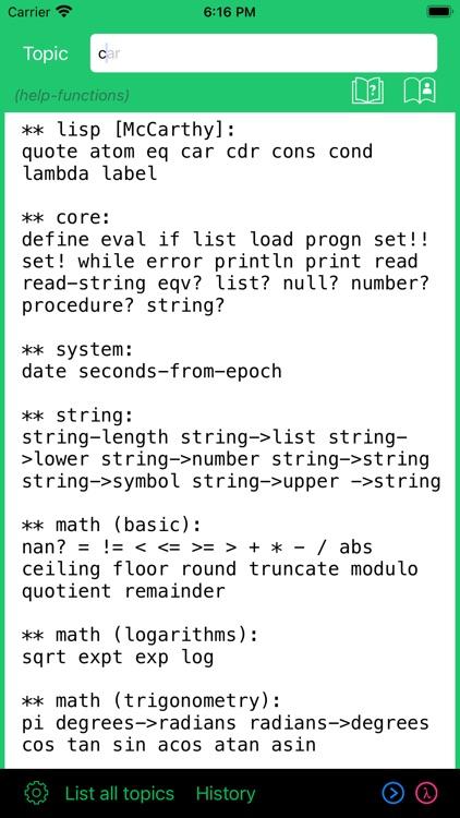 My Lisp screenshot-4