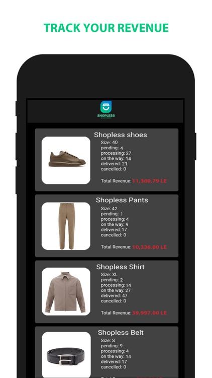 Shopless Seller Center screenshot-3