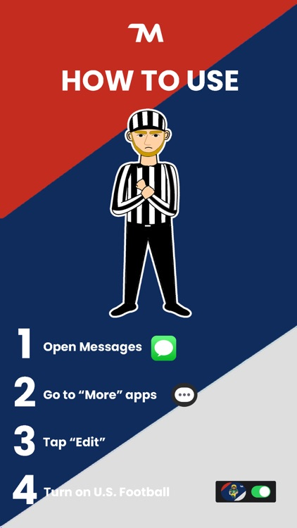 U.S. Football Stickers screenshot-4