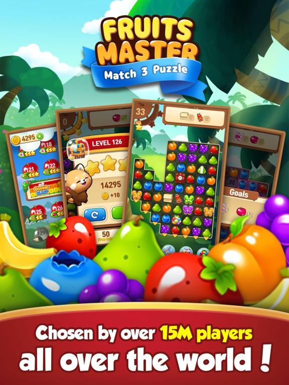 Fruits Master : Match 3 Puzzle screenshot