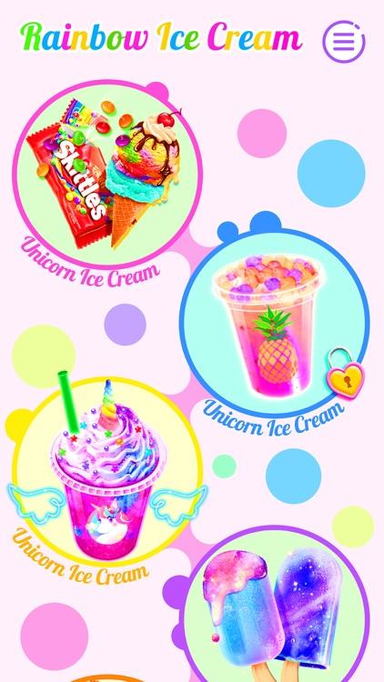 Ice Cream: Unicorn Girl Games screenshot-5