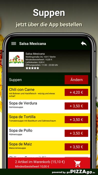 Salsa Mexicana Berlin screenshot 5