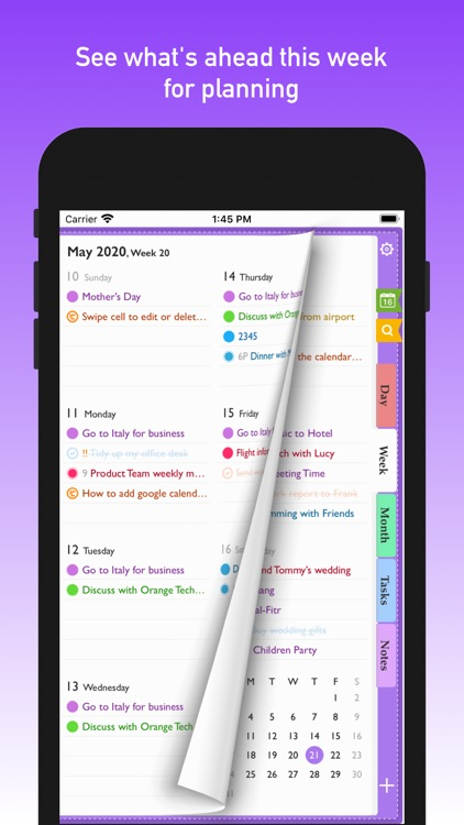 AnyPlan: Time Schedule Planner