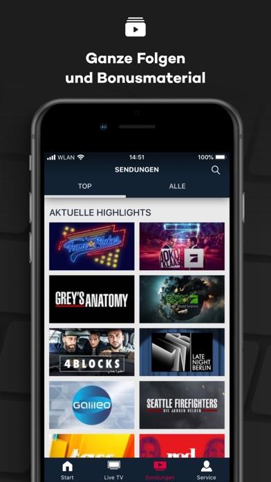 Herunterladen ProSieben – Live TV, Mediathek für Pc