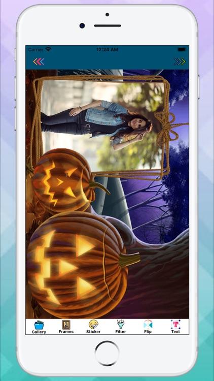 Halloween Photo Frames Maker screenshot-4