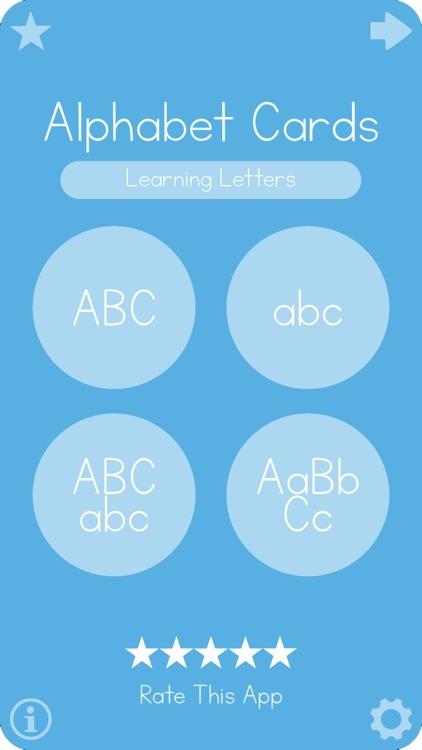 Big Alphabet Cards School
