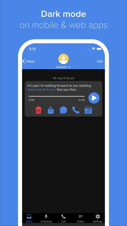 Vxt - Smart Voicemail App screenshot-4