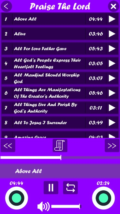 Hallelujah (English Songs) screenshot 5