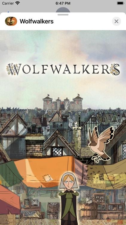 Wolfwalkers Stickers Apple TV+