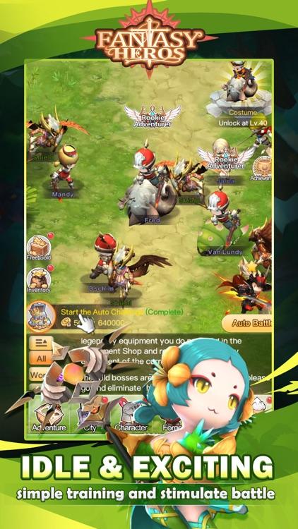 Fantasy Heros : Idle RPG Game screenshot-4