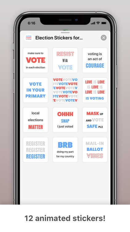 Election Chat Stickers screenshot-3