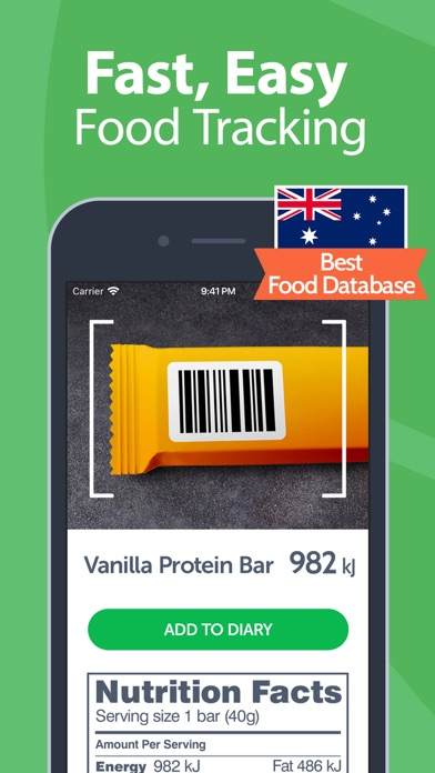 Calorie Counter - MyNetDiary screenshot three