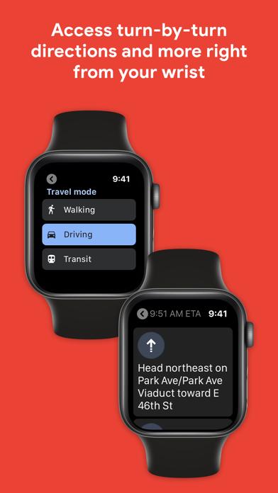 Google Maps - Transit & Food Screenshot on iOS